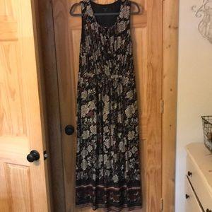 NWOT Garnet Hill maxi dress